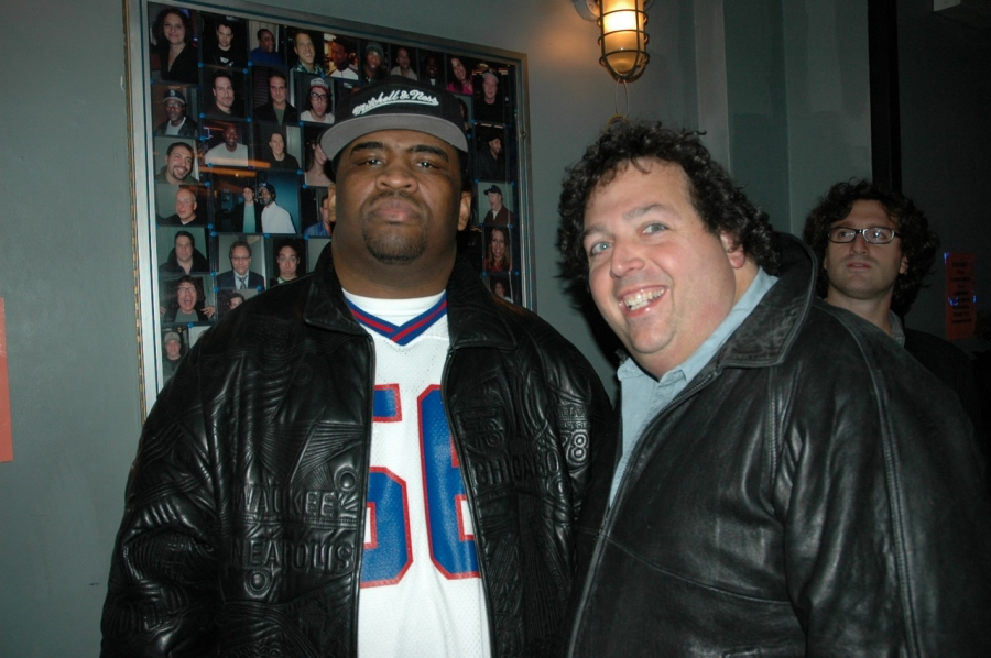 Patrice with Larry Weissman