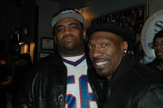 Patrice with Charlie Murphy
