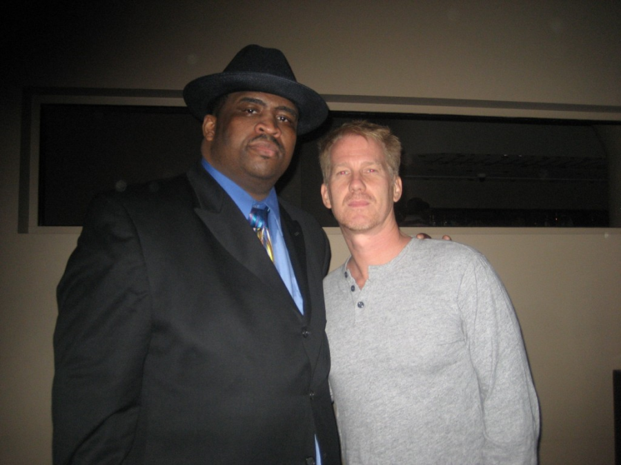 Patrice with Opie from O & A