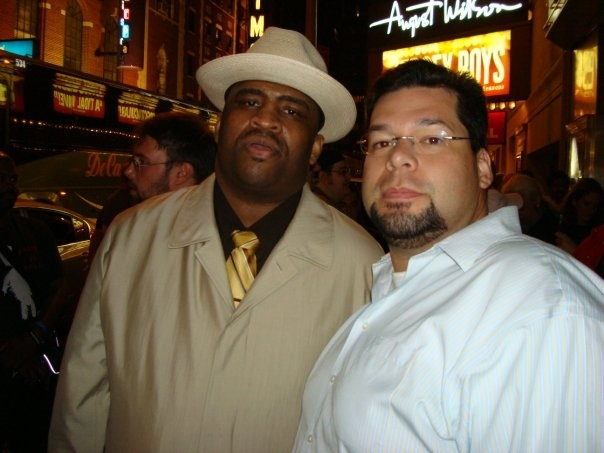 Patrice with Adolfo Candray. Pic taken in Roseland Ballroom, New York City, NY.