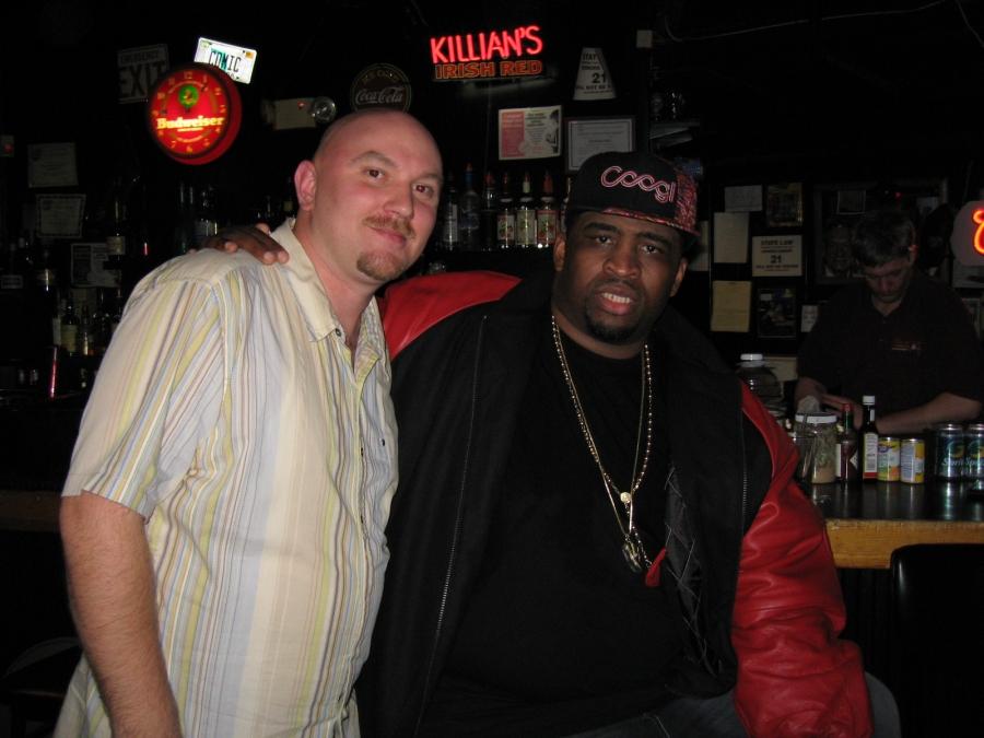 Me (Kenny D) w/ Patrice @ Stress Factory, New Brunswick, NJ Oct 2006.