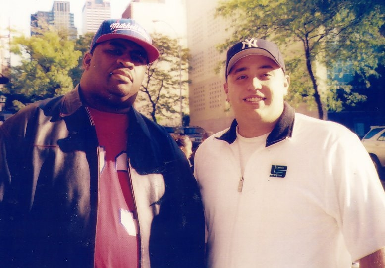 Patrice with Shane Fair. Pic was taken on 53rd right outside the Tough Crowd studio. I used to take the train/ferry/subway from Staten Island just to see his appearances on TCWCC.