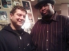 Patrice with Jesse Dubinsky in Bananas in Poughkeepsie, 2009.