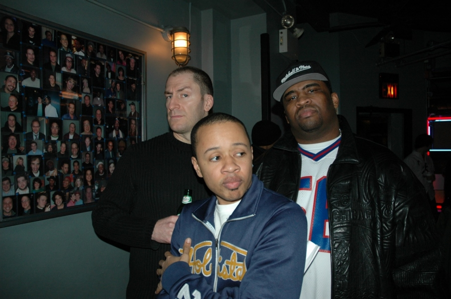 Patrice with Mark Theobald & Ben Bailey