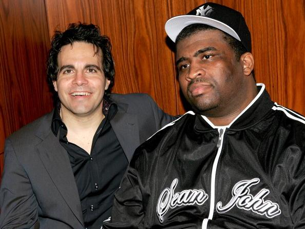 Patrice with Mario Cantone